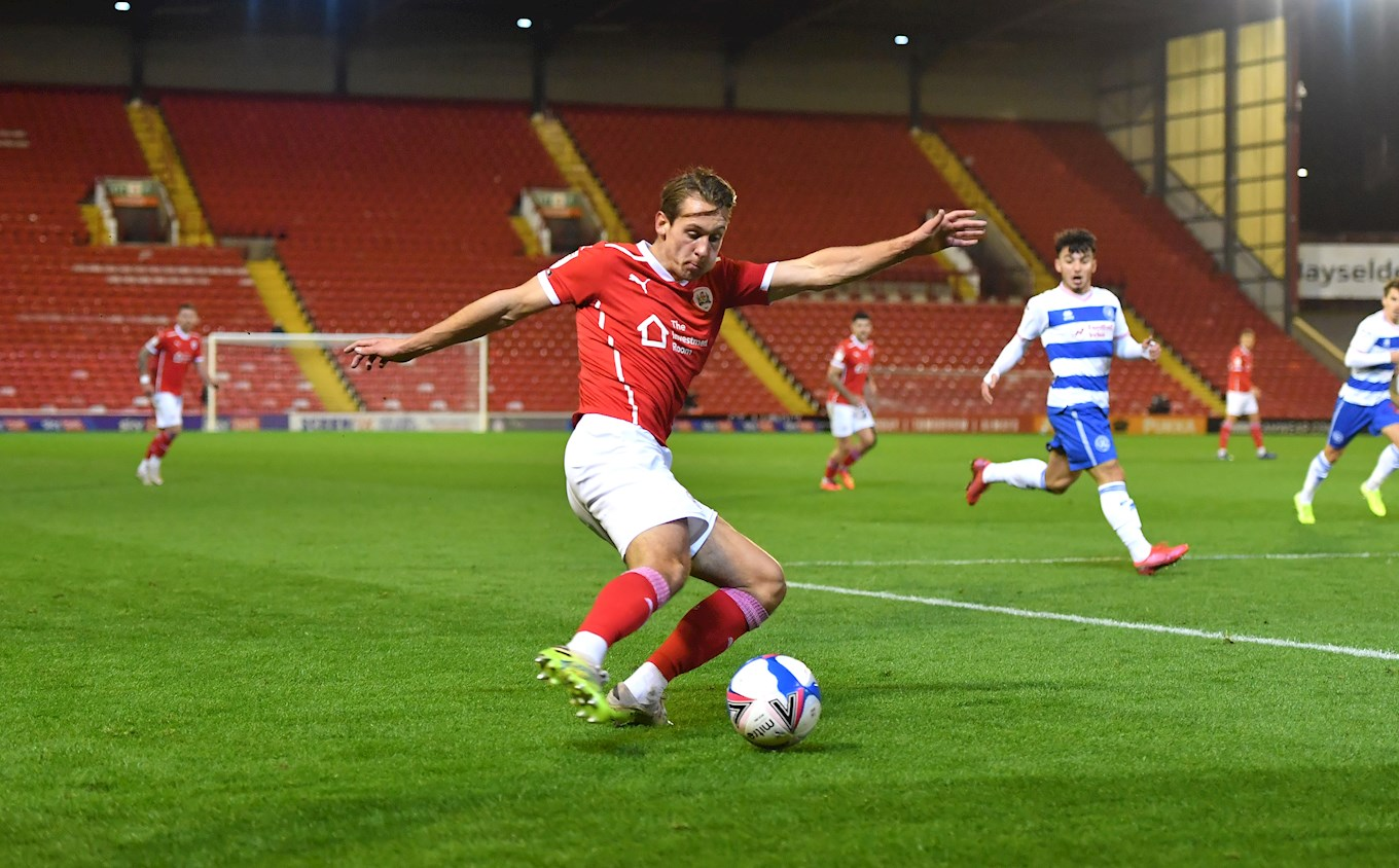 Callum Brittain has enjoyed a tremendous start to life at Barnsley