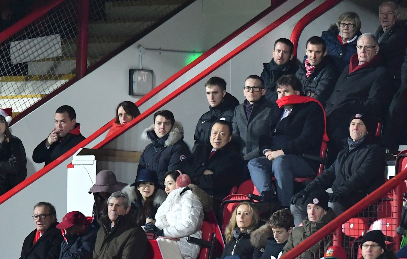 Directors Box Brentford