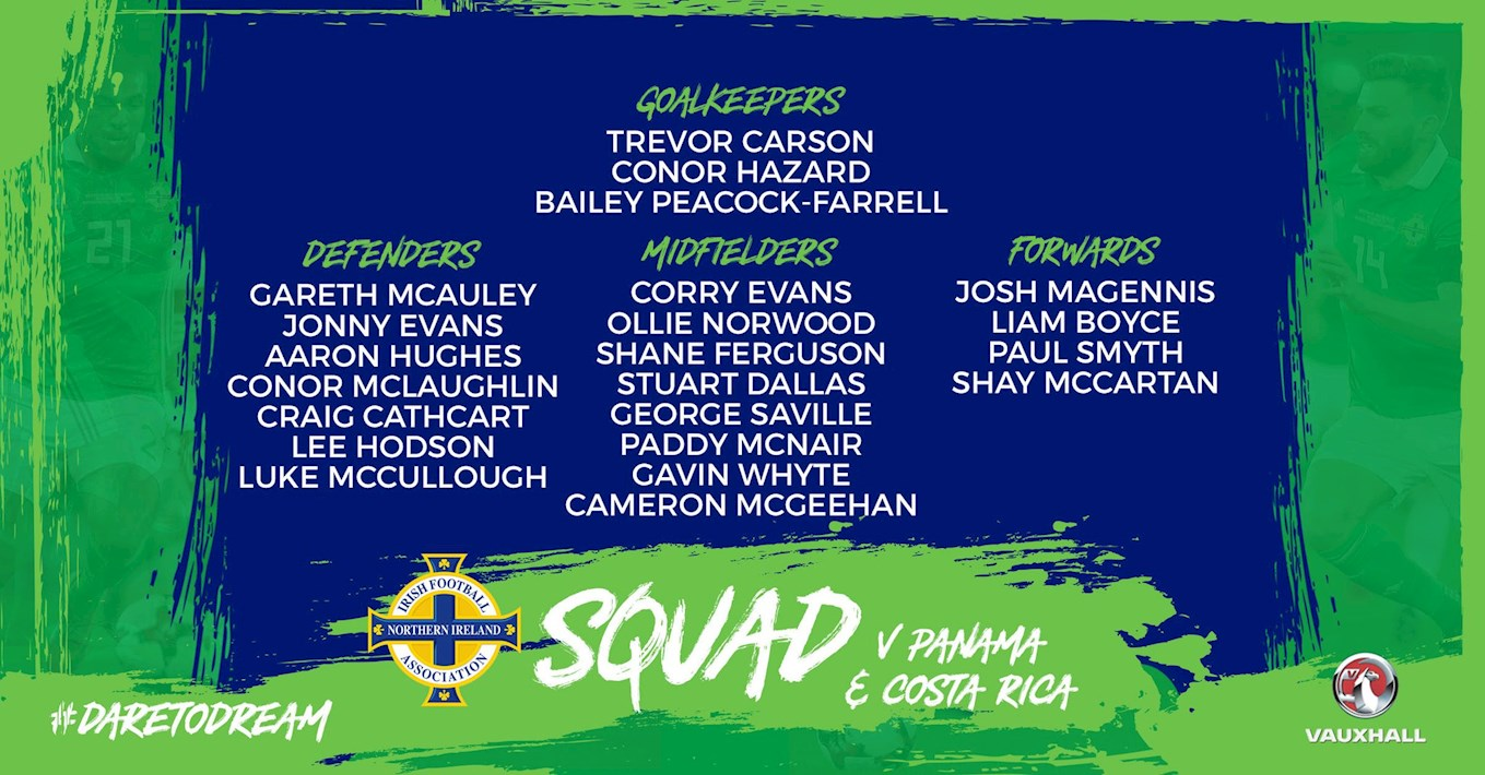Northern Ireland Squad