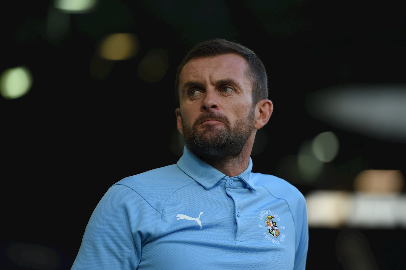 Nathan Jones - Luton's boss