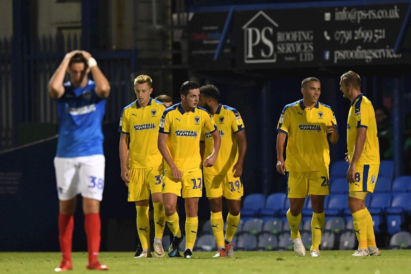 Dons see off Pompey