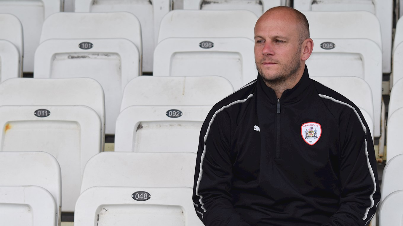 Adam Murray, Barnsley U18s coach.