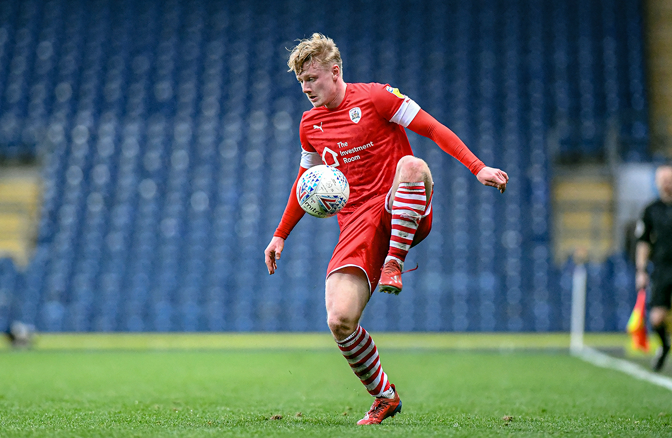 Williams in action at Ewood Park