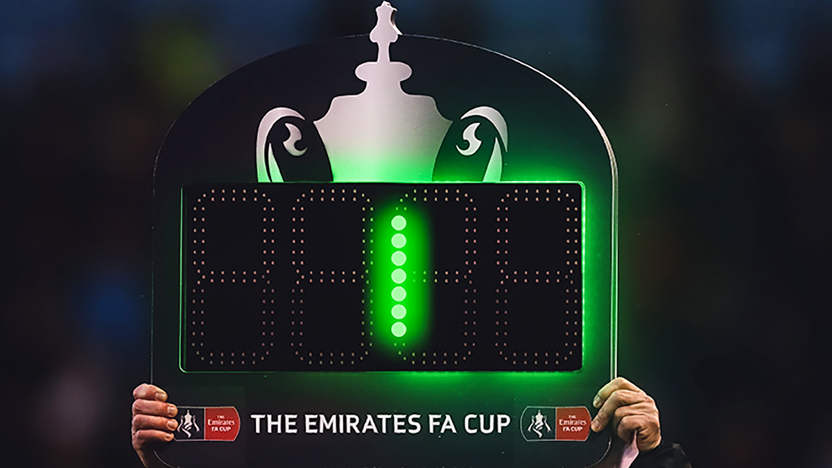 Emirates FA Cup Fixtures To Be Delayed By One Minute ...