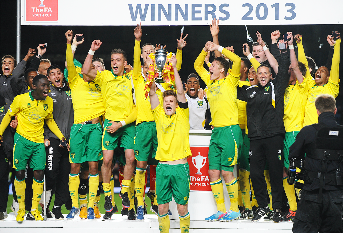 McGeehan led Norwich to the FA Youth Cup in 2013