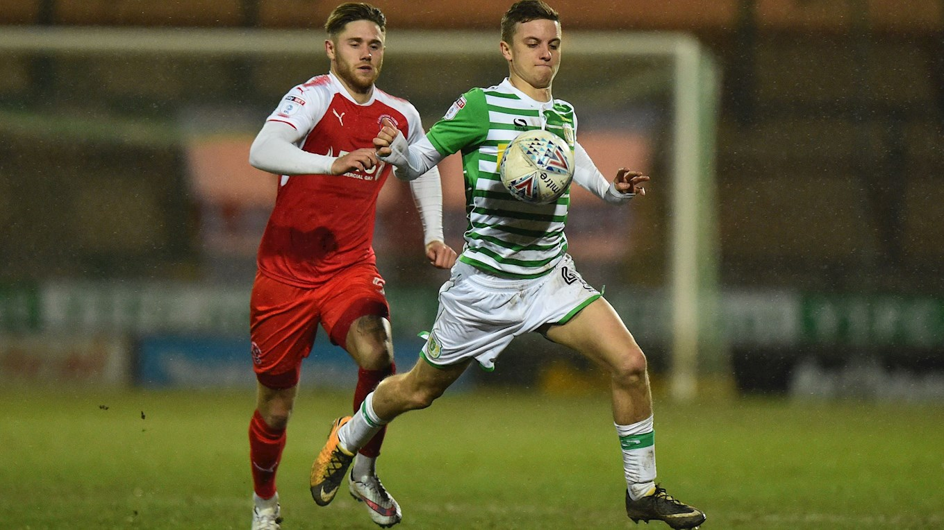 Jared on loan at Yeovil