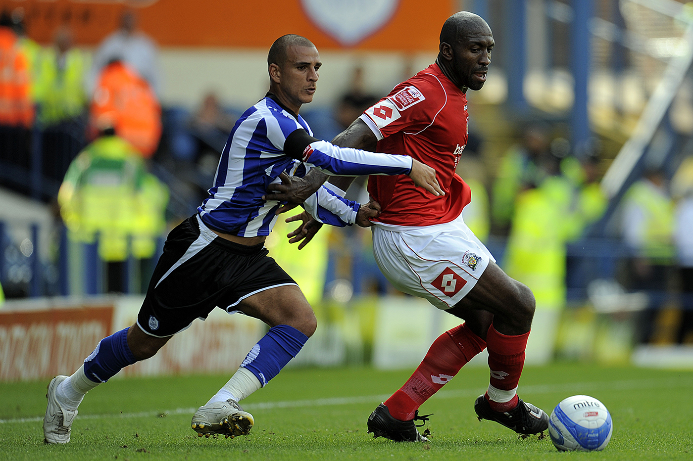 Darren Moore in action for the Reds