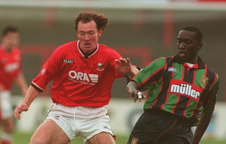 O'Connell and Dwight Yorke