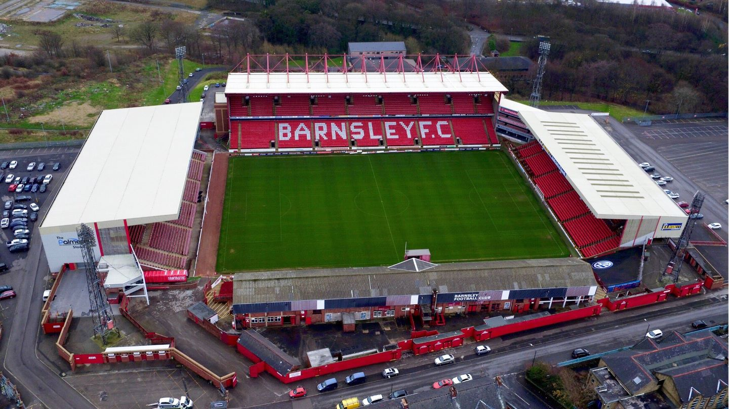 Oakwell from Above